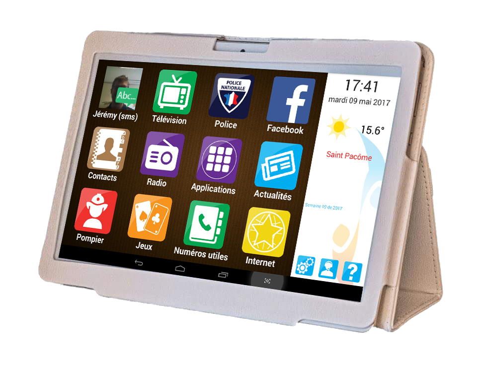 tablette senior